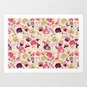 Summer Floral Art Print