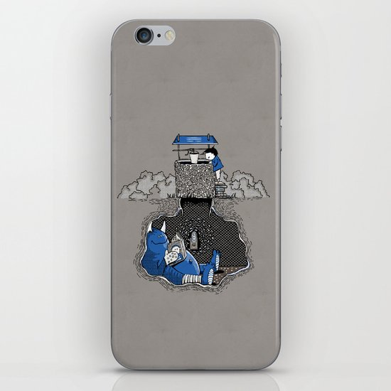 Nightlights and Oven Mitts iPhone & iPod Skin