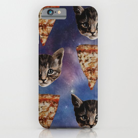 Kitten Pizza Galaxy  iPhone & iPod Case