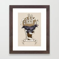 Twenty Fourteen Framed Art Print