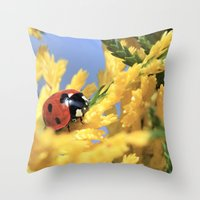 Conifer Lady Throw Pillow