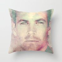 PAUL WALKER R.I.P Throw Pillow