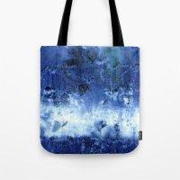 Saltwater Silk Blue Tote Bag