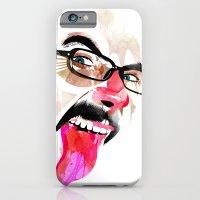 iPhone & iPod Case featuring Lengua by Alvaro Tapia Hidalgo