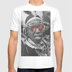 Ignorance Is Bliss Mens Fitted Tee White SMALL
