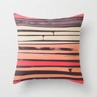 Peach 'N Creme Throw Pillow