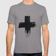 Cross Mens Fitted Tee Athletic Grey SMALL