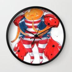Little LadyBug Wall Clock