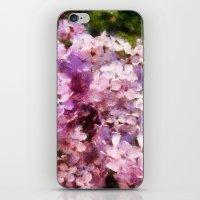 lilac season is my favorite  iPhone & iPod Skin