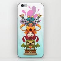 Monster´s Totem iPhone & iPod Skin