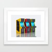 Game On! Framed Art Print