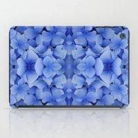 Petals in Blue iPad Case
