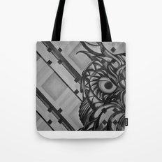 Gray Owl Tote Bag