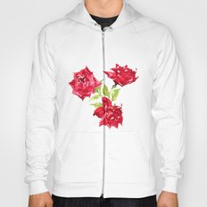 Three Red Roses Hoody