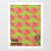 hull melon single hop Art Print