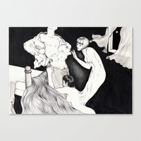 HYDE LOVE Canvas Print