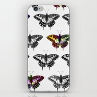 Butterflies 2 iPhone & iPod Skin