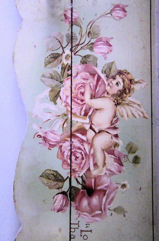 Angel Rose woodpanel Art Print