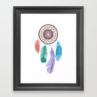 Dream Catcher Multi Framed Art Print