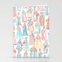 Renaissance Fashion Stationery Cards