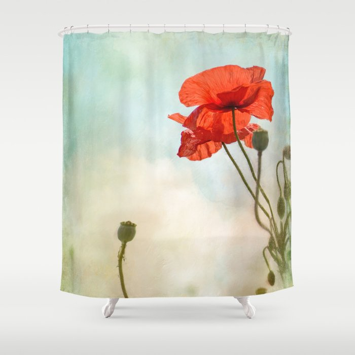 standing tall shower curtain by teresa pople society6