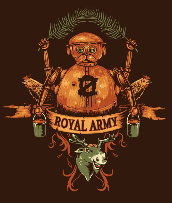 Royal Army Art Print