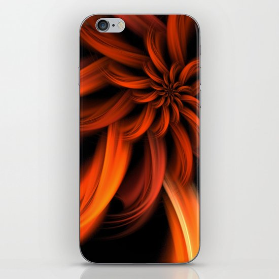 The Red Dahlia iPhone & iPod Skin