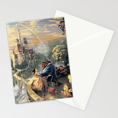 Beauty and the Beast - Tale As Old As Time Stationery Cards