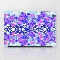 Baroque Blue iPad Case