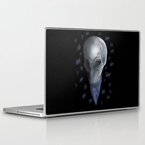 Silent 93 Laptop & iPad Skin