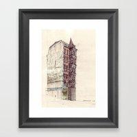 Gaisburgstraße Stuttgar… Framed Art Print