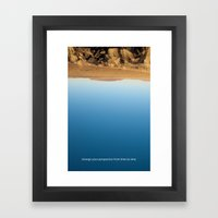 Change Your Perspective … Framed Art Print
