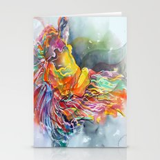 Warrior Dance Stationery Cards