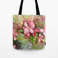 Begonia Beauty Tote Bag