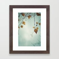 I Remember The Days Framed Art Print