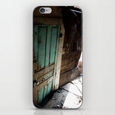 The Blue Door iPhone & iPod Skin