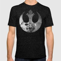 Millennium Falcon Mens Fitted Tee Tri-Black SMALL