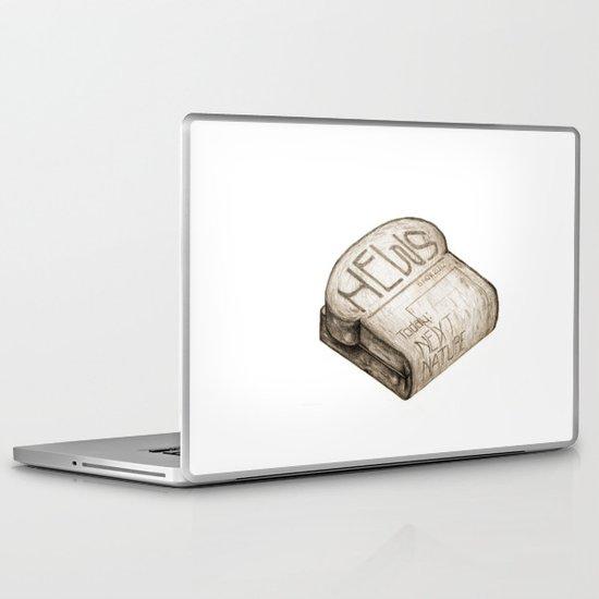 Info Toaster Laptop & iPad Skin