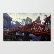 The Broadway Canvas Print