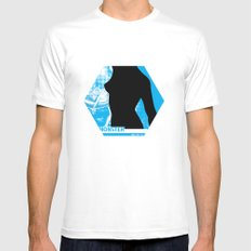 Plastic Series 2 White SMALL Mens Fitted Tee