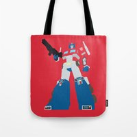Transformers G1 - Optimu… Tote Bag