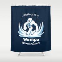 Walking in a Wampa Wonderland Shower Curtain