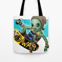 Area 51 Skate Park Tote Bag
