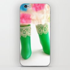 Blythe boots iPhone & iPod Skin