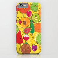 Veggies Fruits iPhone 6 Slim Case