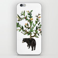 The wind is in the trees, the trees have its brances, the branches have its leaves iPhone & iPod Skin