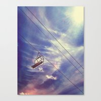 Cloud Chair Canvas Print