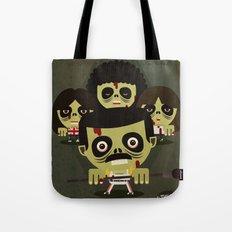 queen zombies Tote Bag