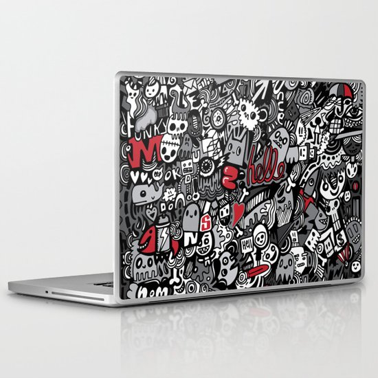 Doodled To Death Laptop & iPad Skin