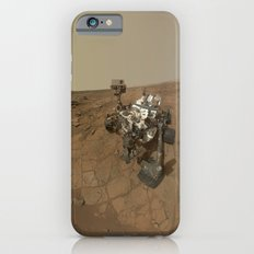 NASA Curiosity Rover's Self Portrait at 'John Klein' Drilling Site in HD Slim Case iPhone 6s